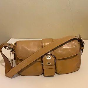COACH Shoulder Bag Leather Soho Buckle  K05S-9434